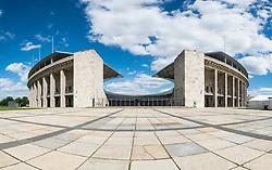 Olympiastadion ( Olympic Stadium) in Berlin, Germany