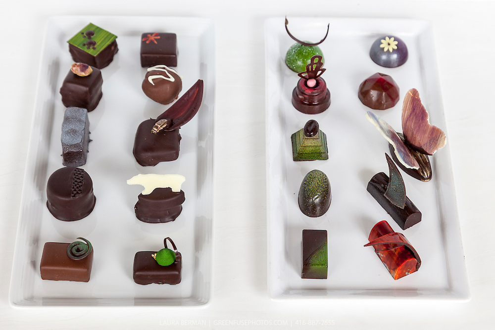 Moulded and Hand-dipped Bons bons at the Canadian Intercollegiate Chocolate Competition April 13- 14, 2013