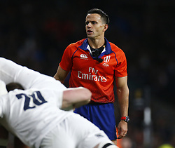March 9, 2019 - London, England, United Kingdom - London, ENGLAND, 9th March .Referee Nic Berry.during the Guinness 6 Nations Rugby match between England and Italy at Twickenham  stadium in Twickenham  England on 9th March 2019. (Credit Image: © Action Foto Sport/NurPhoto via ZUMA Press)