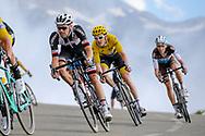 Tom Dumoulin (NED - Team Sunweb), Geraint Thomas (GBR - Team Sky), Romain Bardet (FRA - AG2R - La Mondiale) during the 105th Edition of Tour de France 2018, cycling race stage 19, Lourdes - Laruns (200 km) on July 27, 2018 in Laruns, France - photo Kei Tsuji / BettiniPhoto / ProSportsImages / DPPI