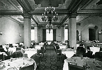 1937 Dining Room at the Hollywood Roosevelt Hotel