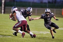 21 September 2018: Peoria High School Lions at Normal West Wildcats football, Normal Illinois<br /> <br /> #bestlookmagazine #alphoto513 #IHSA #IHSAFootball  #NCWHS_GIC   NCWHS_Football