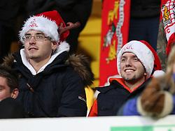Bristol City fans - Photo mandatory by-line: Matt Bunn/JMP - Tel: Mobile: 07966 386802 21/12/2013 - SPORT - FOOTBALL - Meadow Lane - Nottingham - Notts County v Bristol City - Sky Bet League One