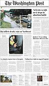 September 03, 2021 - USA: Front-page: Today's Newspapers In United States