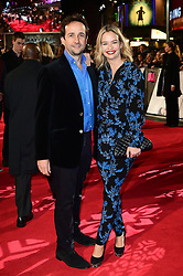 Matt Hermer and Marissa Hermer attending the European premiere of Collateral Beauty, held at the Vue Leicester Square, London. PRESS ASSOCIATION Photo. Picture date: Monday 15th December, 2016. See PA Story SHOWBIZ Beauty. Photo credit should read: Ian West/PA Wire