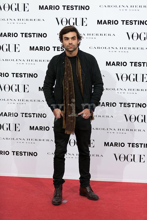 Diego Osorio at Vogue December Issue Mario Testino Party