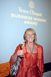 DAWN GIBBONS at the presentation of the Veuve Clicquot Business Woman Award 2009 hosted by Graham Boyes MD Moet Hennessy UK and presented by Sir Trevor Macdonald at The Saatchi Gallery, Duke of York's Square, Kings Road, London SW1 on 28th April 2009.