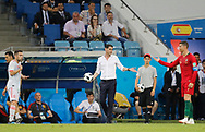Spain coach Fernando Hierro during the 2018 FIFA World Cup Russia, Group B football match between Portugal and Spain on June 15, 2018 at Fisht Stadium in Sotschi, Russia - Photo Tarso Sarraf / FramePhoto / ProSportsImages / DPPI