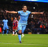 251114 Manchester City v Bayern Munich UCL
