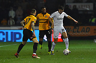Dael Fry (20) of Middlesbrough during the The FA Cup match between Newport County and Middlesbrough at Rodney Parade, Newport, Wales on 5 February 2019.