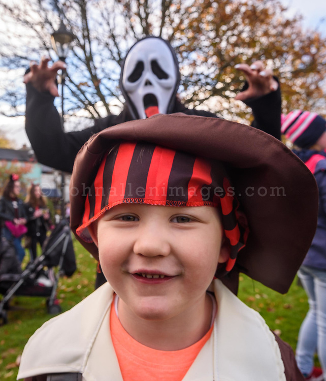 REPRO FREE<br /> Billy Finn from Kinsale pictured at this years Kinsale Halloween parade.<br /> Picture. John Allen