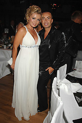 KATHERINE JENKINS and JULIEN MACDONALD at the 10th annual GQ Men of the Year Awards held at the Royal Opera House, Covent Garden, London on 4th September 2007.<br /><br />NON EXCLUSIVE - WORLD RIGHTS