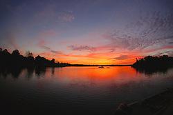 Kings Bay Twilight, Crystal River