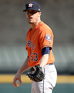 CHICAGO - APRIL 22:  Ken Giles #53 of the Houston Astros pitches against the Chicago White Sox on April 22, 2018 at Guaranteed Rate Field in Chicago, Illinois.  (Photo by Ron Vesely)   Subject:   Ken Giles