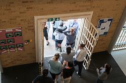 Movement, HMP Bronzefield, women's prison in Surrey
