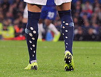 Football - 2018 / 2019 Premier League - Chelsea vs. Manchester City<br /> <br /> Kyle Walker of Man City with spotted socks, at Stamford Bridge.<br /> <br /> COLORSPORT/ANDREW COWIE