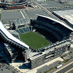Aerial view of <br />  Lincoln Financial Field, home of the Philadelphia eagles nfl
