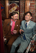 MICHAEL ATTREE; DORIAN CROOK, Cahoots club launch party, 13 Kingly Court, London, W1B 5PW  26 February 2015