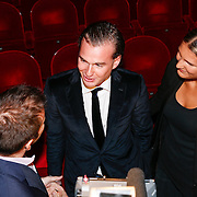 NLD/Amsteram/20121024- Presentatie biografie Joop van den Ende, Vincent en Iris van den ende