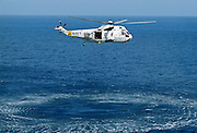 Helicopter from USS Nimitz, Los Angeles, United States.