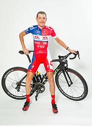 Jani Brajkovic during photo session of Cycling Team KK Adria Mobil, on January 22, 2018 in Novo Mesto, Novo Mesto, Slovenia. Photo by Vid Ponikvar / Sportida