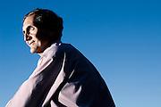 Computer Scientist Ed Lazowska, photographed at University of Washington, Seattle, for Businessweek Magazine.