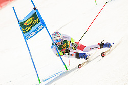 March 9, 2019 - Kranjska Gora, Kranjska Gora, Slovenia - Marco Odermatt of Switzerland in action during Audi FIS Ski World Cup Vitranc on March 8, 2019 in Kranjska Gora, Slovenia. (Credit Image: © Rok Rakun/Pacific Press via ZUMA Wire)