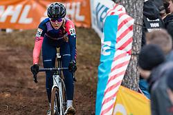 NUSS Raylyn (USA) during Women Elite race, 2019 UCI Cyclo-cross World Cup Heusden-Zolder, Belgium, 26 December 2019.  <br /> <br /> Photo by Pim Nijland / PelotonPhotos.com <br /> <br /> All photos usage must carry mandatory copyright credit (Peloton Photos   Pim Nijland)