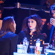 NLD/Amsterdam/20130418- Uitreiking 3FM Awards 2013, Carice van Houten en onbekende man