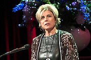 Prinses Margriet en Prinses Laurentien bij uitreiking ECF Princess Margriet Award for Culture 2017 in Paradiso, Amsterdam. ECF zet zich in voor cultuur in Europa. <br /> <br /> Princess Margriet and Princess Laurentien at the ECF Princess Margriet Award for Culture 2017 in Paradiso, Amsterdam. ECF is committed to culture in Europe.<br /> <br /> Op de foto / On the photo: <br /> <br />  Prinses Laurentien  /  Princess Laurentien