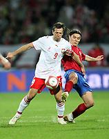 Fotball<br /> EM-kvalifisering<br /> 06.09.2006<br /> Polen v Serbia<br /> Foto: Wrofoto/Digitalsport<br /> NORWAY ONLY<br /> <br /> MACIEJ ZURAWSKI /L/ OF POLAND