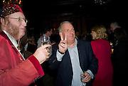 JOHN MCCRIRICK; KELVIN MACKENZIE, Book launch for Citizen by Charlie Brooks. Tramp. London. 1 April  2009