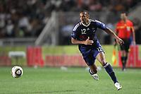 Fotball<br /> Frankrike v Tunis<br /> Foto: Dppi/Digitalsport<br /> NORWAY ONLY<br /> <br /> FOOTBALL - FRIENDLY GAME 2010 - TUNISIA v FRANCE - 30/05/2010<br /> <br /> THIERRY HENRY (FRA)