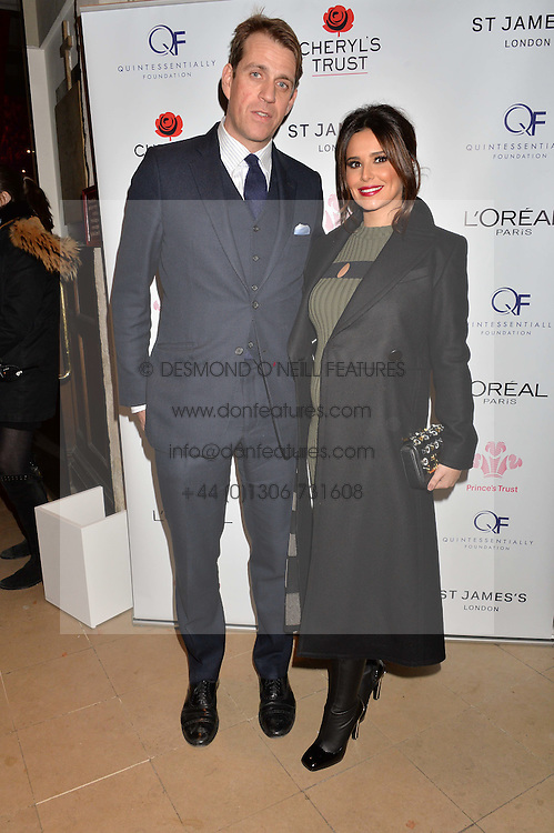 ***UK_MAGAZINES_OUT***<br /> <br /> LONDON, ENGLAND 29 NOVEMBER 2016: Cheryl, Ben Elliot at the Fayre of St James's hosted by Quintessentially Foundation and the Crown Estate in aid of Cheryl's Trust in support of The Prince's Trust held at St.James's Church, Piccadilly, London, England. 29 November 2016.