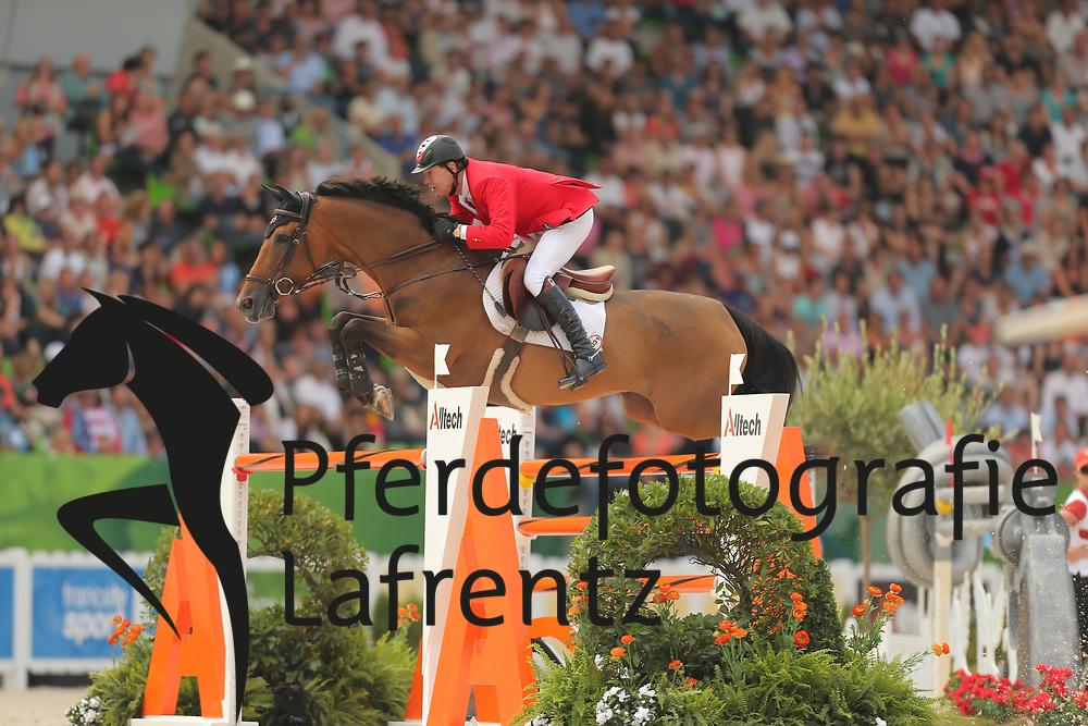 Millar, Ian, Dixson<br /> Normandie - WEG 2014<br /> Springen - Finale III<br /> © www.sportfotos-lafrentz.de/ Stefan Lafrentz