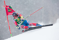 Tim Jitloff (USA) competes during 1st Run of 10th Men's Giant Slalom race of FIS Alpine Ski World Cup 55th Vitranc Cup 2016, on March 5, 2016 in Kranjska Gora, Slovenia. Photo by Vid Ponikvar / Sportida