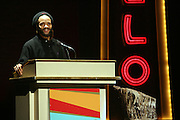 Savion Glover at the Apollo Theater 75th Birthday Celebration Press Conference announcing its special anniversary programming across Harlem, New York, and the Nation.