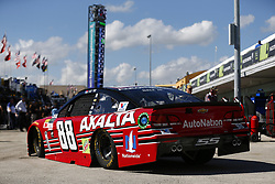 November 18, 2017 - Homestead, Florida, United States of America - November 18, 2017 - Homestead, Florida, USA: Dale Earnhardt Jr. (88) takes to the track to practice for Ford EcoBoost 400 at Homestead-Miami Speedway in Homestead, Florida. (Credit Image: © Justin R. Noe Asp Inc/ASP via ZUMA Wire)