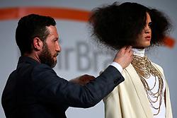 Hair Brasil 2013 - 12 ª Feira Internacional de Beleza, Cabelos e Estética, que acontece de 06 a 09 de abril no Expocenter Norte, em São Paulo. FOTO: Jefferson Bernardes/Preview.com