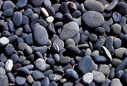 WA: Washington State; Olympic National Park, Rialto Beach, closeup of pebbles    .Photo Copyright: Lee Foster, lee@fostertravel.com, www.fostertravel.com, (510) 549-2202.Image: waolym209