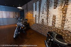 Visit to Harley-Davidson Japan's headquarters. Tokyo, Japan. Tuesday, December 9, 2014. Photograph ©2014 Michael Lichter.
