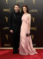 .Lydia Hearst, Chris Hardwick  attend  2016 Creative Arts Emmy Awards - Day 1 at  Microsoft Theater on September 10th, 2016  in Los Angeles, California.Photo:Tony Lowe/Globephotos