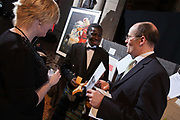 Photographing guests at a charity event at the Mansfield Traquair in Edinburgh
