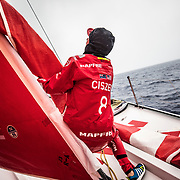 Leg 6 to Auckland, day 06 on board MAPFRE. 12 February, 2018.