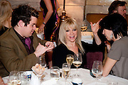 Jo Wood;, Criterion Restaurant  celebrates its 135th anniversary. Piccadilly Circus. London. 2 February 2010