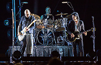 The Smashing Pumpkins perform at the Bridgestone Arena on Fridday, July 20, 2018. (Photo by Frederick Breedon)