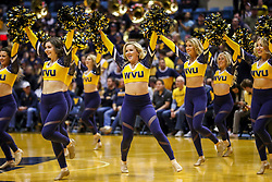 Nov 24, 2018; Morgantown, WV, USA; The West Virginia Mountaineers dance team performs during the first half against the Valparaiso Crusaders at WVU Coliseum. Mandatory Credit: Ben Queen-USA TODAY Sports
