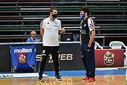 Mattia Consoli, Edoardo Casalone<br /> Banco di Sardegna Dinamo Sassari - Happycasa Brindisi<br /> LBA Legabasket Supercoppa Gir.D 2020/2021<br /> Olbia, 07/09/2020<br /> Foto L.Canu / Ciamillo-Castoria