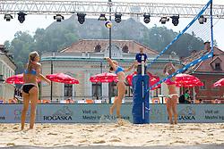 Tjaša Jančar at Beach Volleyball Challenge Ljubljana 2014, on August 1, 2014 in Kongresni trg, Ljubljana, Slovenia. Photo by Matic Klansek Velej / Sportida.com
