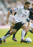 30/10/2004<br />FA Barclays Premiership - Fulham v Tottenham Hotspur - Craven Cottage, London<br />Fulham's Steed Malbranque<br />Photo:Jed Leicester/Back Page Images
